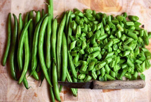 Grøn bønne frø